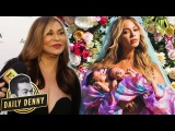 Tina Knowles Talks Beyonce and Twins Sir and Rumi Carter Daily Denny