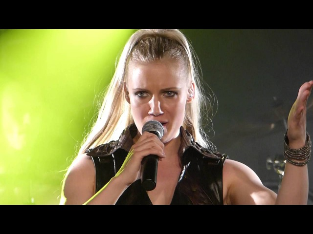 Leaves's Eyes with Elina Siirala - Edge of Steel @ Colos-Saal, Aschaffenburg 2016-05-12
