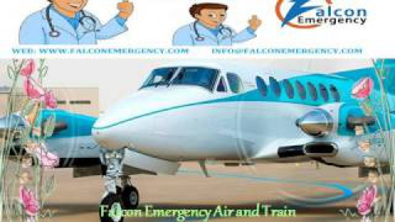 Top and Low Cost Emergency Air Ambulance Services in Kolkata and Guwahati