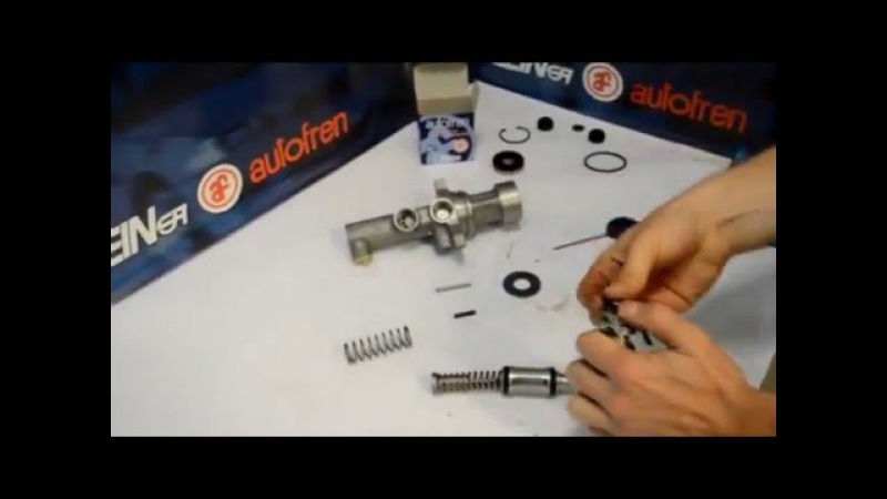 Ремонт главного тормозного цилиндра видеоурок от SEINSA