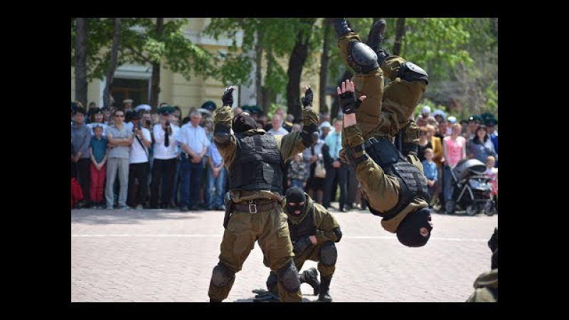 Russian special forces hand to hand combat - training and combat