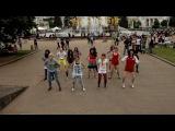 LIKE THIS Wonder Girls - Like This (flashmob MOSCOW)