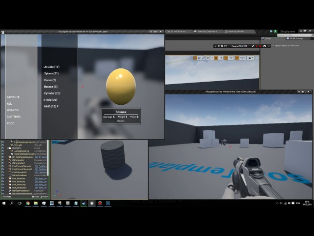Multiplayer PayRoll Inventory Component - Unreal Engine free