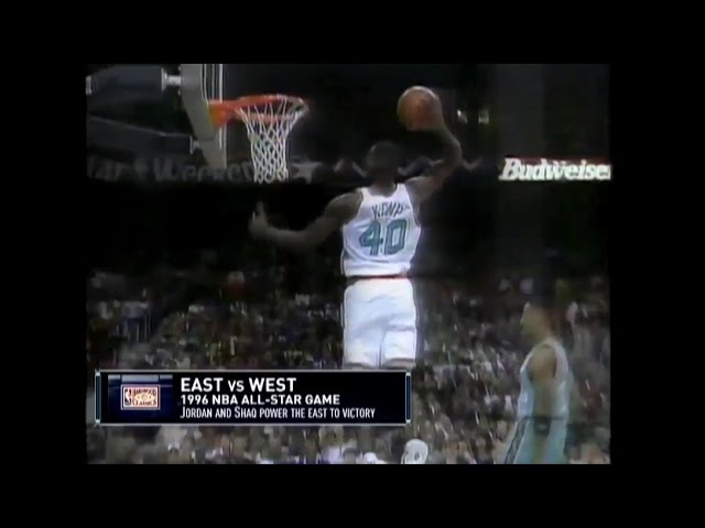 All 23 Dunks from the 1996 NBA All-Star Game (Better Quality)
