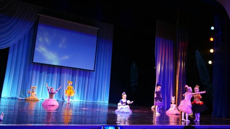 Танец Забытые игрушки, хореографический коллектив Созвездие