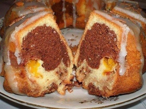 Быстрый кекс по-русски Ингредиенты: Сахар — 4 ст. л. Яйцо