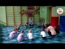 детский сад, физкультура, двойняшки в младшей группе