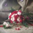 Создание свадебного букета
