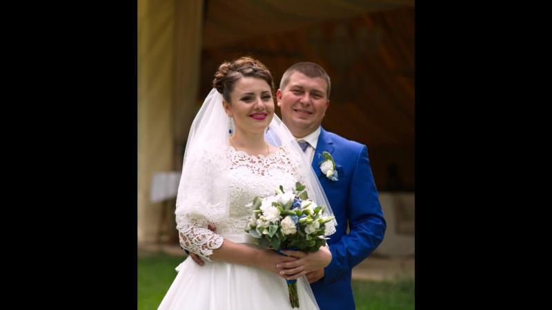 Свадьба Саша и Ксюша (сделано в день свадьбы на банкете)