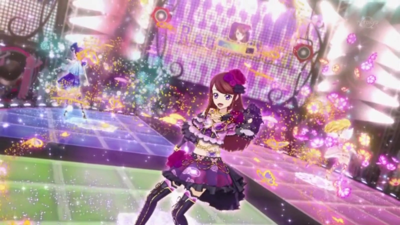 Aikatsu Episode 9 Move on now Hoshimiya Ichigo Kiriya Aoi Shibuki Ran 1080p