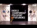 IPSAF WORLD CHAMPIONSHIP POLE SPORT 2016 FLORENCE (Finals) - Natalia Knysheva (Russia)