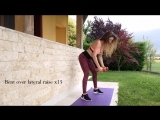 Тренировка для рук, плеч и спины