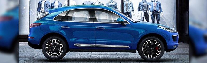 Производство Zotye SR9, клона Porsche Macan, начнется 12 октября