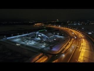 Казань с высоты птичьего полета, сказочно красивый город!