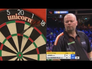 Adrian Lewis vs Raymond van Barneveld (Champions League of Darts 2017 - Group A)