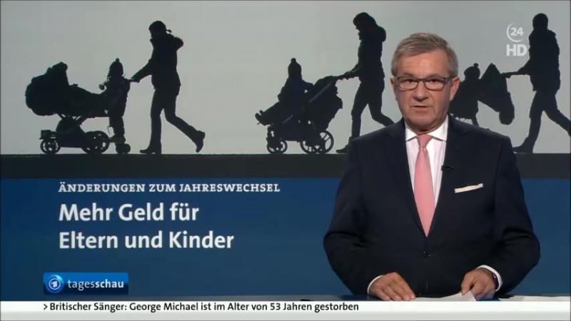 Ferkels Propagandasender ARD protzt mit mehr Kindergeld