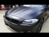 Матовый BMW 550i xDrive M-sport защищен Ceramic Pro PPF & Vinyl