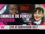 Emmelie de Forest (Denmark 2013) interview @ Grand Euro Party 2017 wiwibloggs