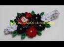 Tiara con flores kanzashi pequeñas, flor kanzashi Pequeño
