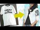 DIY Convert Old T-shirt Into Smart , Casual Jacket