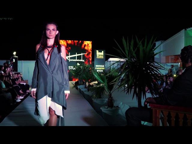 TOMASHEVSKY STORGE - Perwoll Odessa Fashion Week Cruise. Mafia Rave Terrace