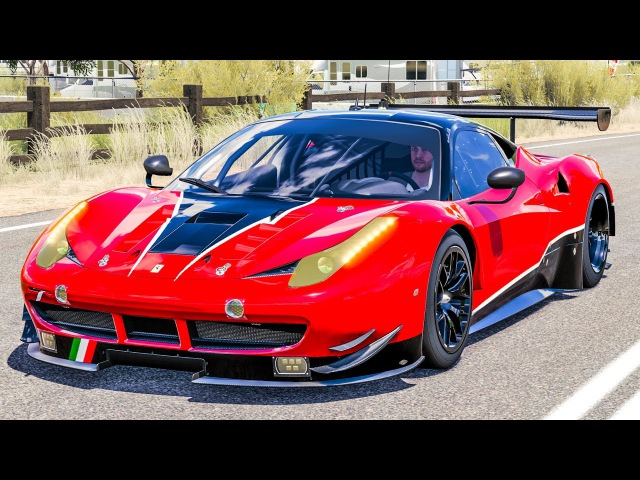 Forza Horizon 3 - Ferrari AF CORSE 458 ITALIA GTE | PC Gameplay HD 1440p Thrustmaster T300 RS GT