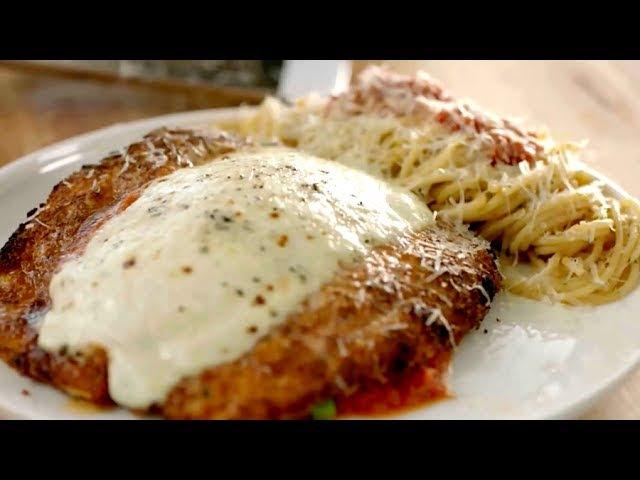 цыпленок Пармезан от Гордона Рамзи из нового сезона шоу Это Всё Еда (The F-Word)