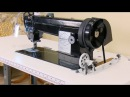 Sailrite® Fabricator Sewing Machine in Power Stand with Workhorse Servo Motor