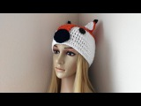How To Crochet A Fox Hat, Lilu's Handmade Corner Video # 95