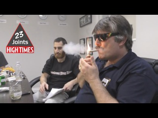23 Joints HIGH TIMES Cannabis Cup Judging 2016