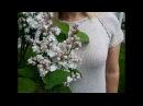 ПОШАГОВЫЙ МК Вязаное платье Суровый жемчуг 1 часть