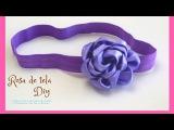 Flor de tela para Diadema/ cintillos.♥ | Max Q Wapa DIY