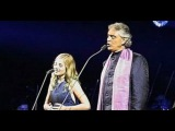 Jackie Evancho &amp Andrea Bocelli 2015 ( Time To Say Goodbye ) - Con te partir