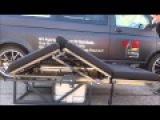VanBeds Gas Ram Powered rock n roll bed