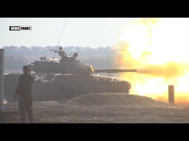 В ДНР проходят зрелищные межреспубликанские соревнования танковых экипажей