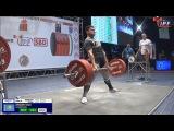 Brett Gibbs(NZL) vs Ulan Anuar(Kaz), 83kg class, at the Classic Worlds-2017