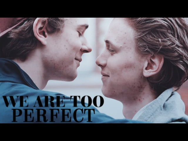 Isak even we are perfect but the world is not.