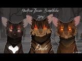 WARRIORS Hawkfrost, Tigerstar and Brambleclaw PMV