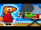 FOX FAMILY Electric shock Baby Plays Dangerously New Episodes Finger Family Song Nursery Rhymes