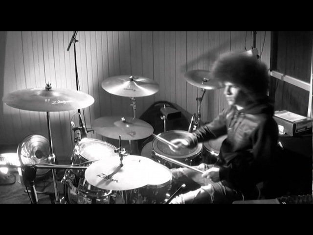 Jimi Hendrix - Purple Haze (Drum Cover) Vale Rosales