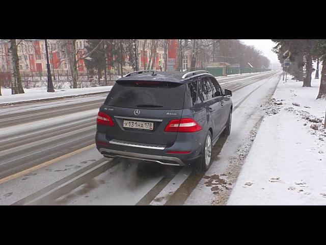 Велик телом, да мал делом. Mercedes-Benz ML 350. - видео с YouTube-канала Яковлев Миша