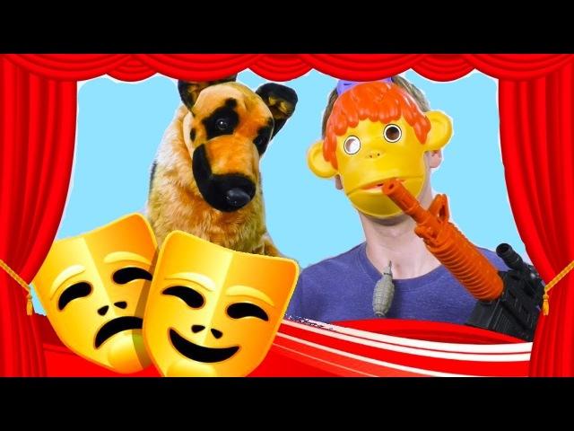 Маски Шоу мультгероев для детского маскарада