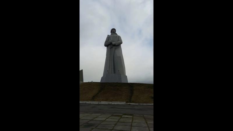 Алеша Паметник Мурманск.