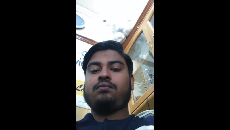 Ashutosh Choube - Live