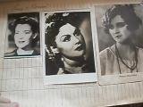 Антикварные открытки с актерами