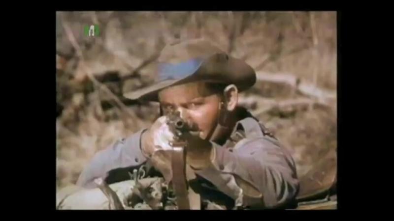 Патруль в Шангани / Shangani Patrol (1970). Бой патруля Уилсона с воинами матабеле