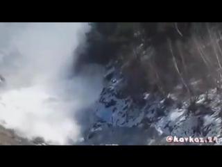Лавина на 52 км. участке автодороги Агвали-Шаури-Кидеро