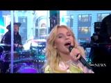 Зара Ларссон    Zara Larsson - Never Forget You live  утреннее шоу  Good Morning America.