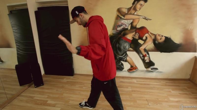 Хип-хоп танцы – школа - Урок 7 - Bart Simpson, Running man, Kick Step