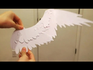I'm prototyping a mechanical paper bird wing :) by yuumei-art